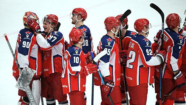 ЦСКА завершил календарный год на первом месте в сводной таблице КХЛ