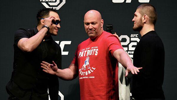 РЕН ТВ в прямом эфире покажет бои Нурмагомедова и Макгрегора в UFC