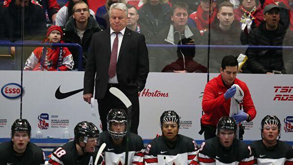 Сборная Канады обыграла команду Германии в матче МЧМ по хоккею