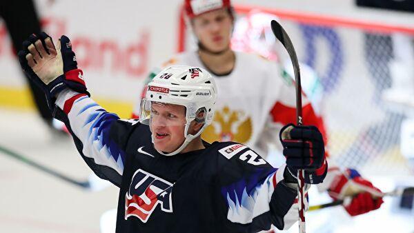 Сборная России уступила американцам в матче молодежного ЧМ