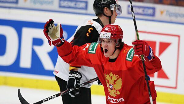 Сборная России разгромила Германию на молодежном чемпионате мира