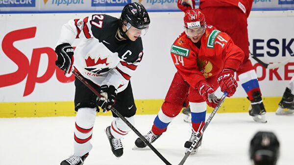 Капитан сборной Канады не снял шлем при исполнении гимна РФ на МЧМ