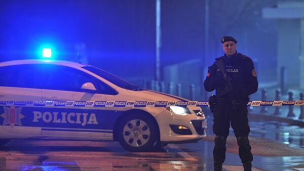 В Черногории во время протестов ранены четверо полицейских
