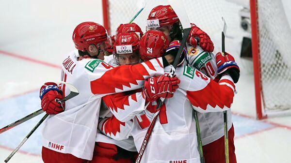Россия победила Швейцарию в четвертьфинале молодежного ЧМ по хоккею