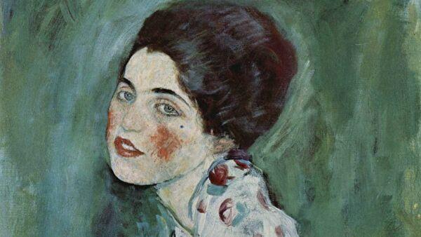 Найденная в стене галереи картина Климта признана подлинником