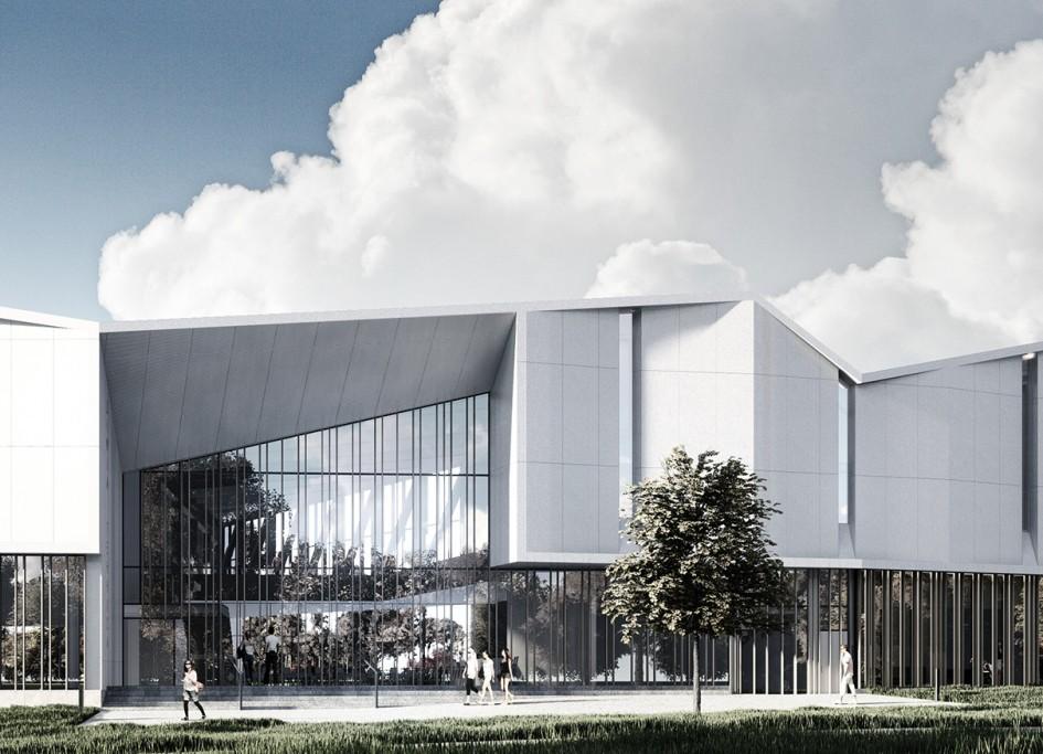 В Сколково построят гибридный теннисный центр