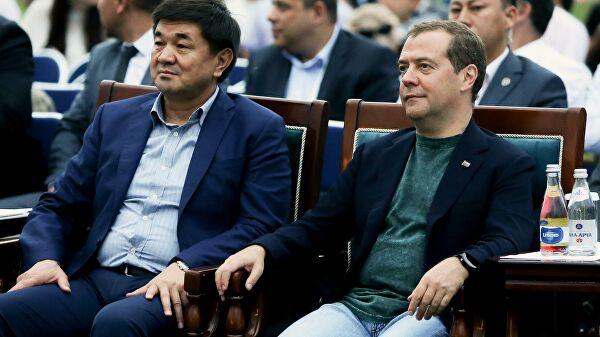 В Киргизии поблагодарили Медведева за вклад в развитие отношений