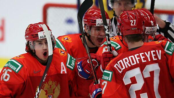 Сборная России вышла в финал молодежного чемпионата мира по хоккею