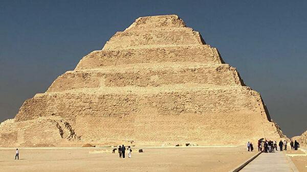 Отреставрированную пирамиду Джосера в Египте откроют для туристов