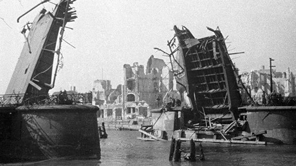 Историк отметил боевой опыт СССР при штурме Кенигсберга в 1945 году