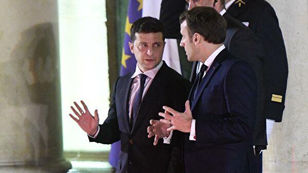 Лидеры Украины, Франции и Германии скоро обсудят ситуацию в Донбассе