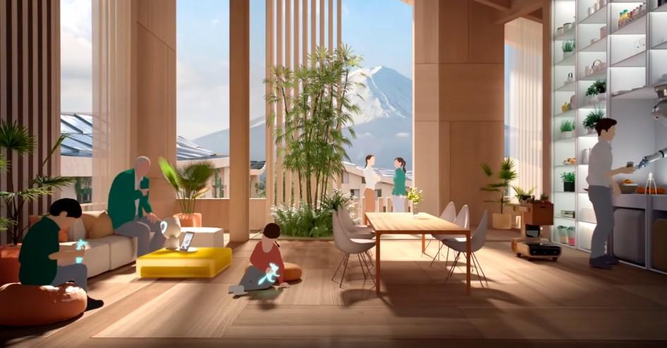 Toyota построит город будущего у подножия горы Фудзи