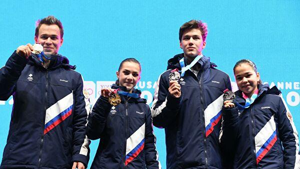 Сборная России остается на втором месте в медальном зачете ЮОИ-2020