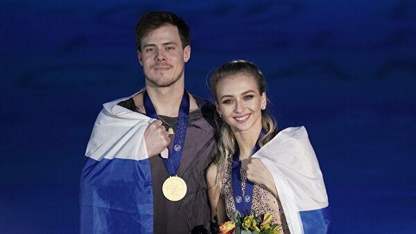 Третье золото России: Синицина и Кацалапов выиграли ЧЕ в танцах