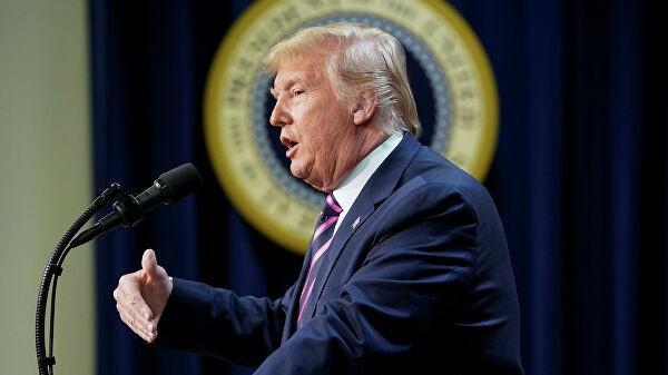 СМИ: Белый дом ведет подготовку к возможному обращению Трампа к нации