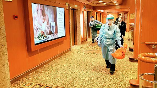 Австралия эвакуирует граждан с лайнера Diamond Princess в Японии