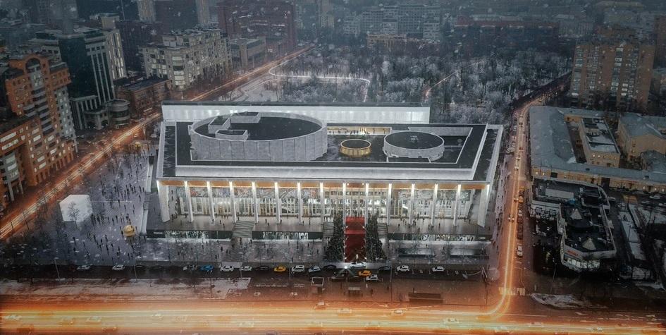 Москва согласовала проект реконструкции МДМ на «Фрунзенской»
