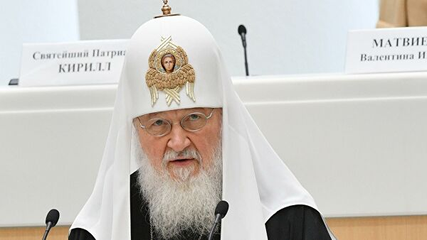 Патриарх Кирилл считает важными поправки в Конституцию о Боге и семье