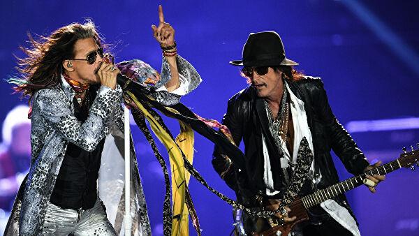 Группа Aerosmith выступит в Москве в честь своего пятидесятилетия