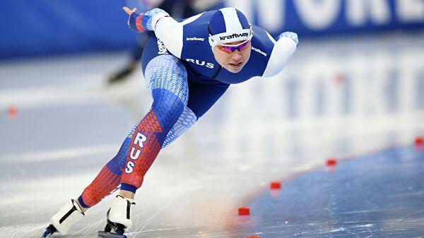 Российские конькобежки стали вторыми в командном спринте на ЧМ