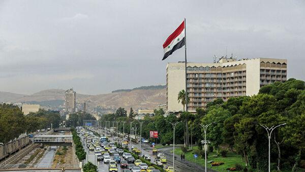Сирийское ПВО отражает атаки в небе над Дамаском