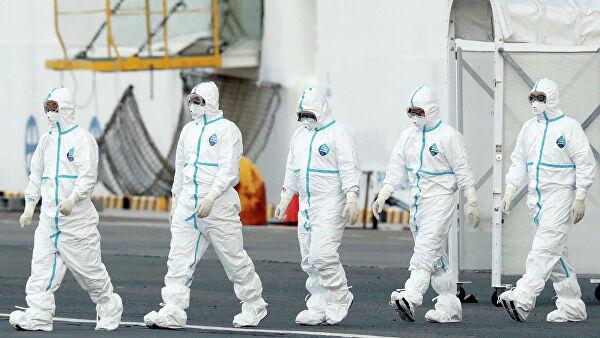 На лайнере в Японии выявили 70 новых случаев заражения коронавирусом