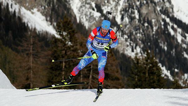 Логинов завоевал золото на чемпионате мира по биатлону