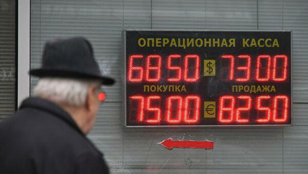 Случаи падения курса российского рубля