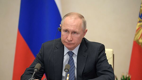 Путин дал поручения полпредам в связи с COVID-19