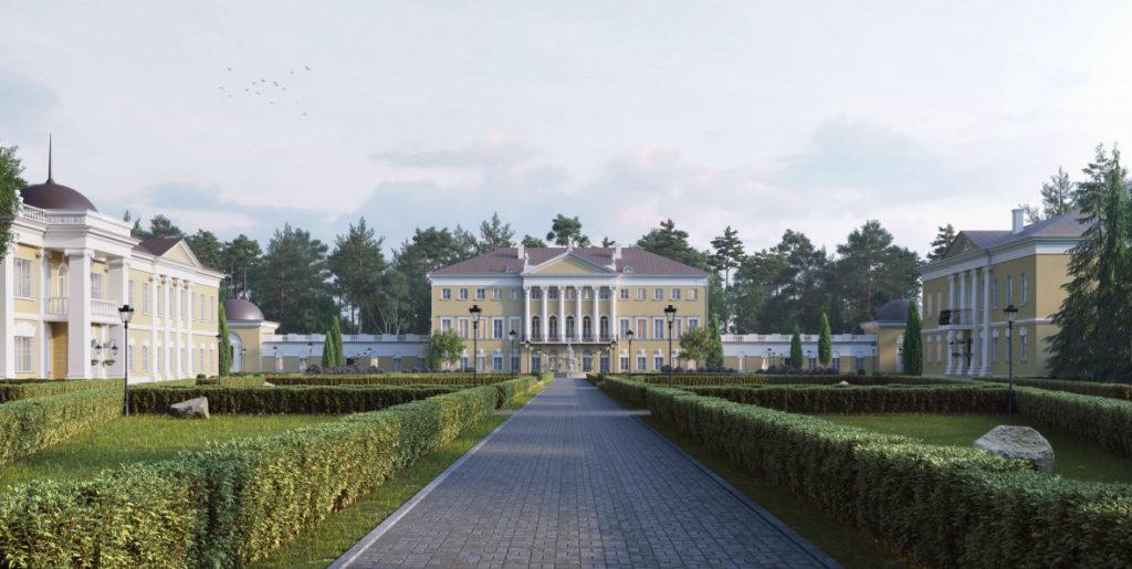 В усадьбе Гребнево в Подмосковье создадут историко-культурный кластер