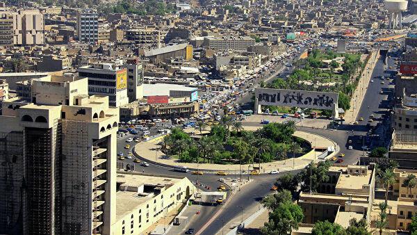 """СМИ: в """"зеленой зоне"""" Багдада упали несколько реактивных снарядов"""