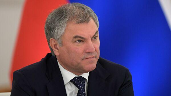 Володин прокомментировал позднюю встречу Путина с лидерами фракций