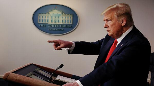 """Трамп рассказал о """"невероятном прогрессе"""" США в борьбе с коронавирусом"""