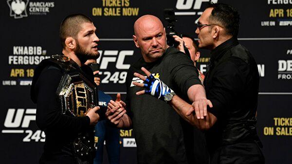 Глава UFC: Нурмагомедов не виноват в отмене боя с Фергюсоном