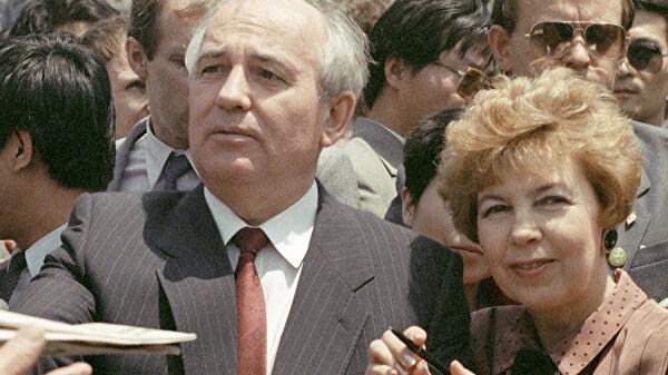 Горбачев с симпатией относится к работе над спектаклем о нем и супруге