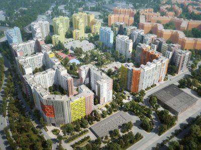На всех корпусах второй очереди жилого комплекса в ЮАО ведутся работы