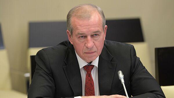 Экс-губернатор Иркутской области захотел вновь ее возглавить