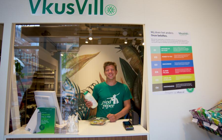 «ВкусВилл» открыл первый магазин за границей