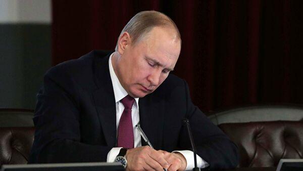 Путин подписал указ о порядке продления ограничений по коронавирусу