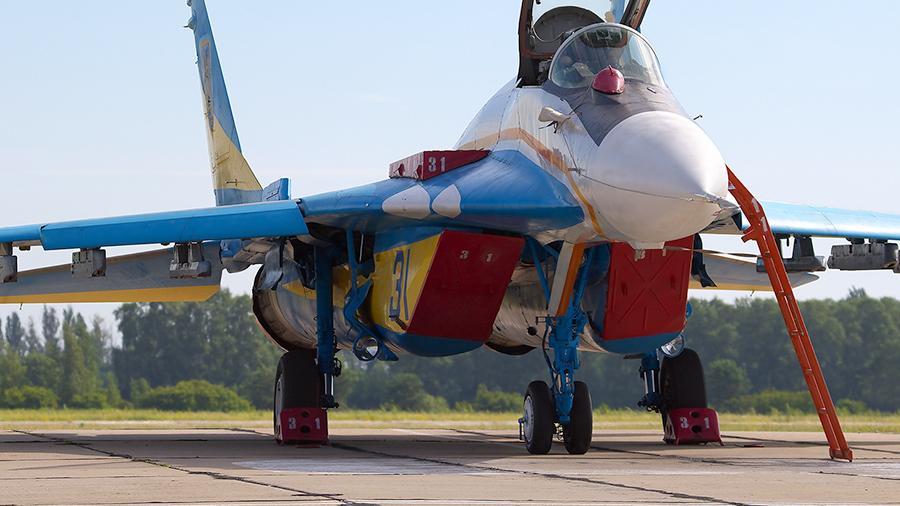 На украинском заводе прямо во время ремонта МиГ-29 растащили на запчасти