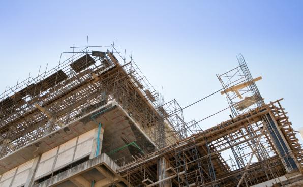 Строительство компенсационного дома для дольщиков в Зеленограде ведется на уровне шестого этажа