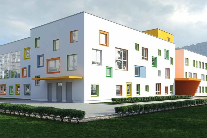 В поселении Рязановском на первом корпусе компенсационного дома для дольщиков трех проблемных объектов начали строить второй этаж
