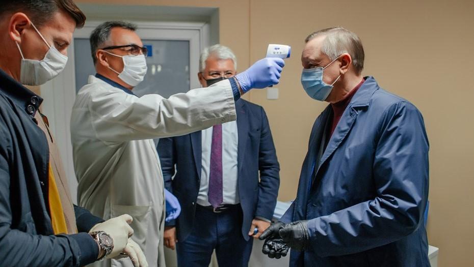 Беглов заявил об ухудшении эпидситуации в Петербурге