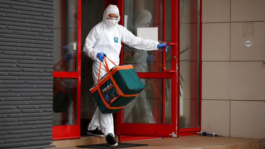 Более 33 тыс. тестов на коронавирус провели в Петербурге за сутки