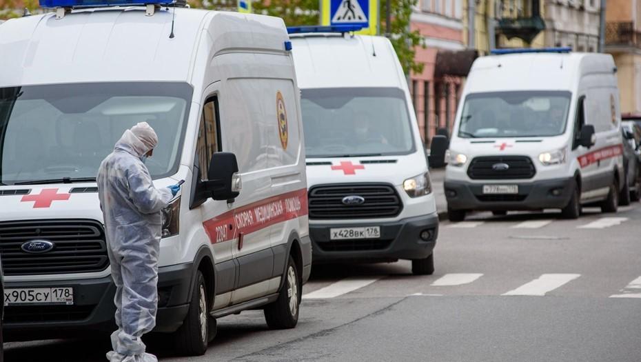 Число зараженных коронавирусом в Петербурге перевалило за отметку 56 тыс