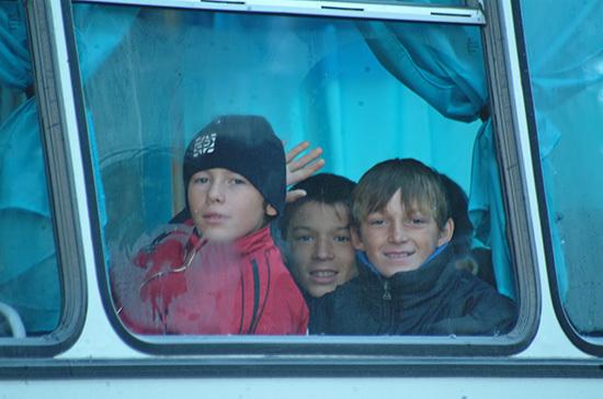 Детей-безбилетников не будут высаживать из автобусов и троллейбусов