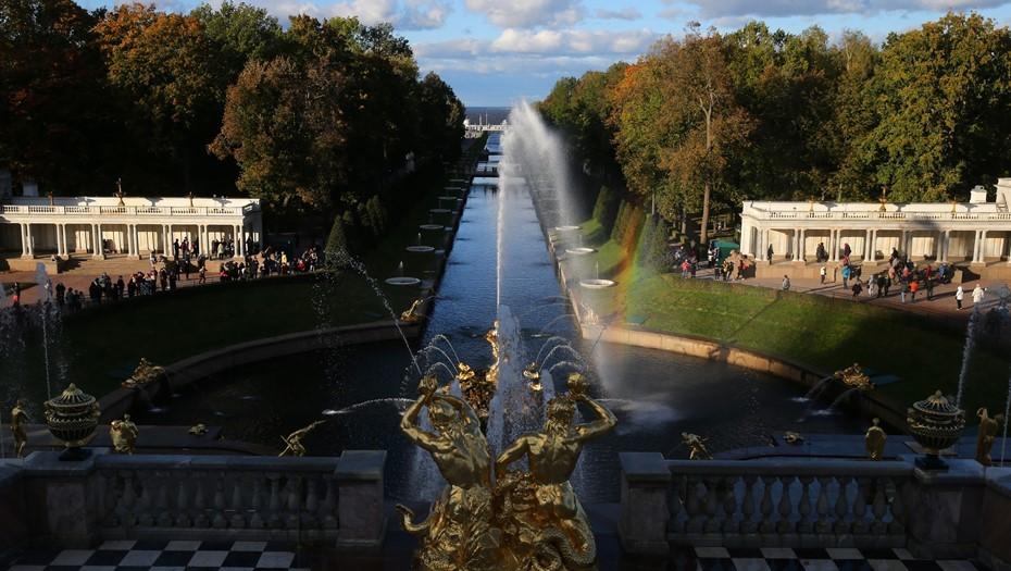 Парки Петергофа, Царского Села и Гатчины переходят на зимний режим