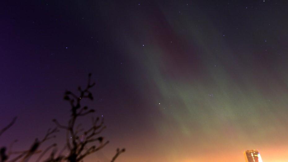 Петербуржцы смогут в течение недели наблюдать северное сияние