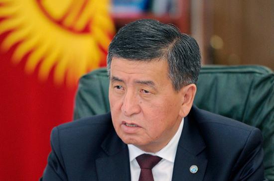Президент Киргизии уволил секретаря Совета безопасности республики