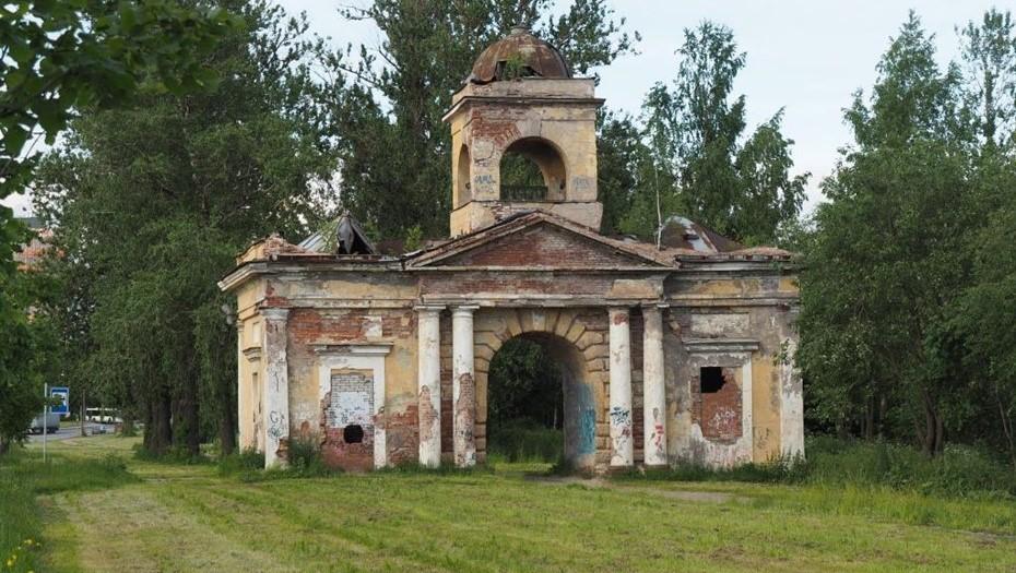 """Против НИИ """"Химволокно"""" возбудили дело за демонтаж Александровских ворот"""